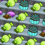 Candy Boost tile